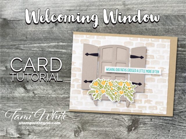 Welcoming Window Stamp Set