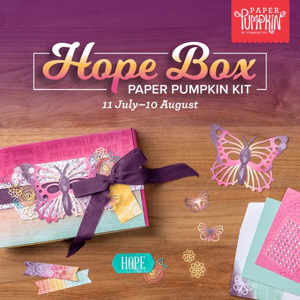 August 2021 Paper Pumpkin Kit - Hope Box