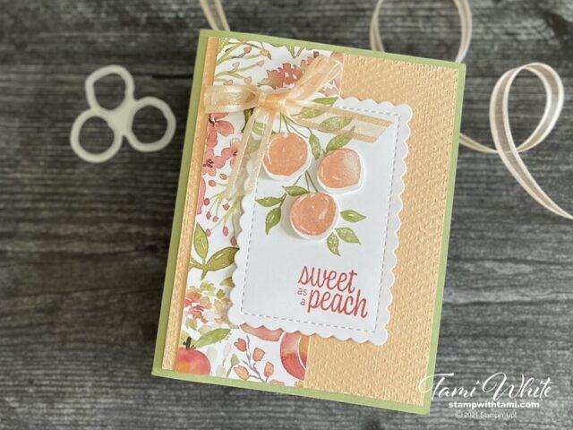 You're a Peach Card Tutorial photos