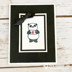Party Pandas Stamp Set