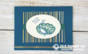 Beautiful Peacock Stamps