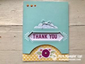 Stampin Up Sale-a-bration Pretty Pocket Kit