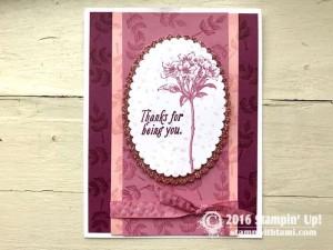 Stampin Up Sale-a-bration Avant Garden stamp set