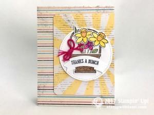 Stampin Up Basket Bunch Stamp set