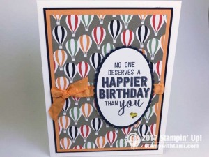 Stampin Up Sale-a-bration Carried Away DSP