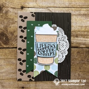 Merry Cafe Stamp Set
