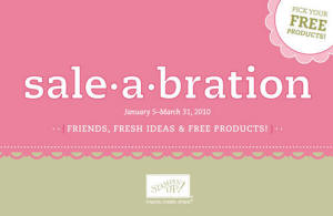 Stampin Up Sale a Bration
